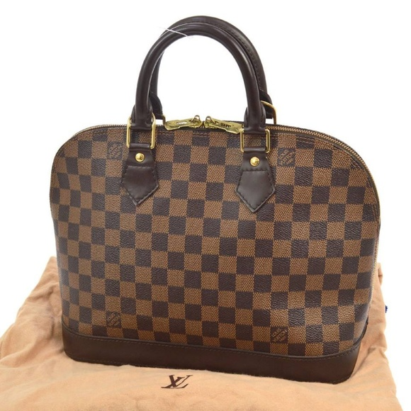 4e32e0f9df51 Louis Vuitton Alma Brown Damier